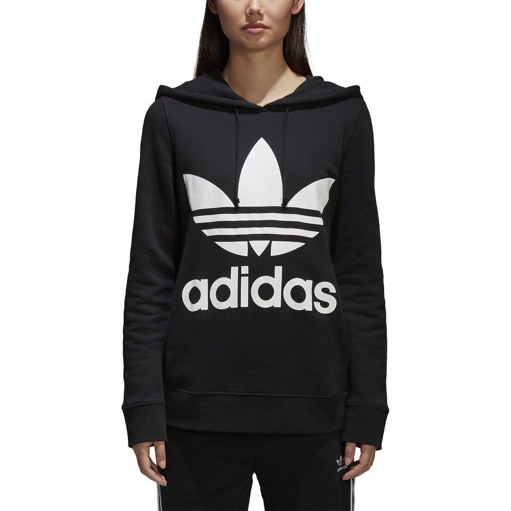 felpa hoodie donna adidas