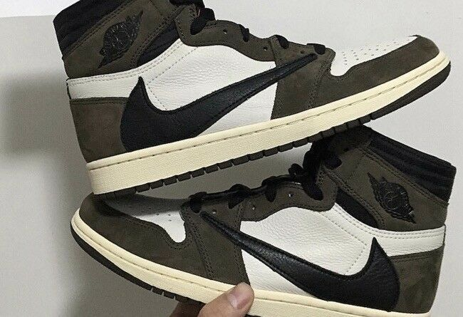 sale retailer 4fcb7 54175 Details about Nike Air Jordan 1 Retro High OG Travis Scott ...