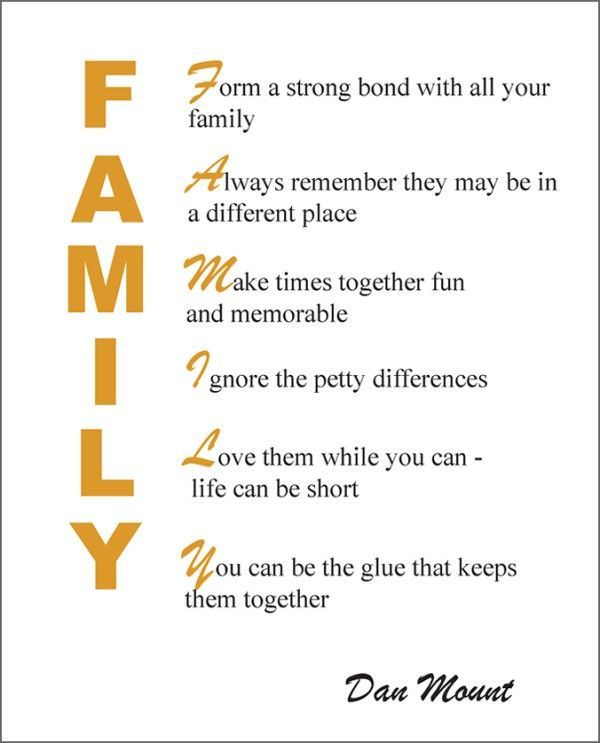 How about you, what is family for you? ACollectionOfPoems