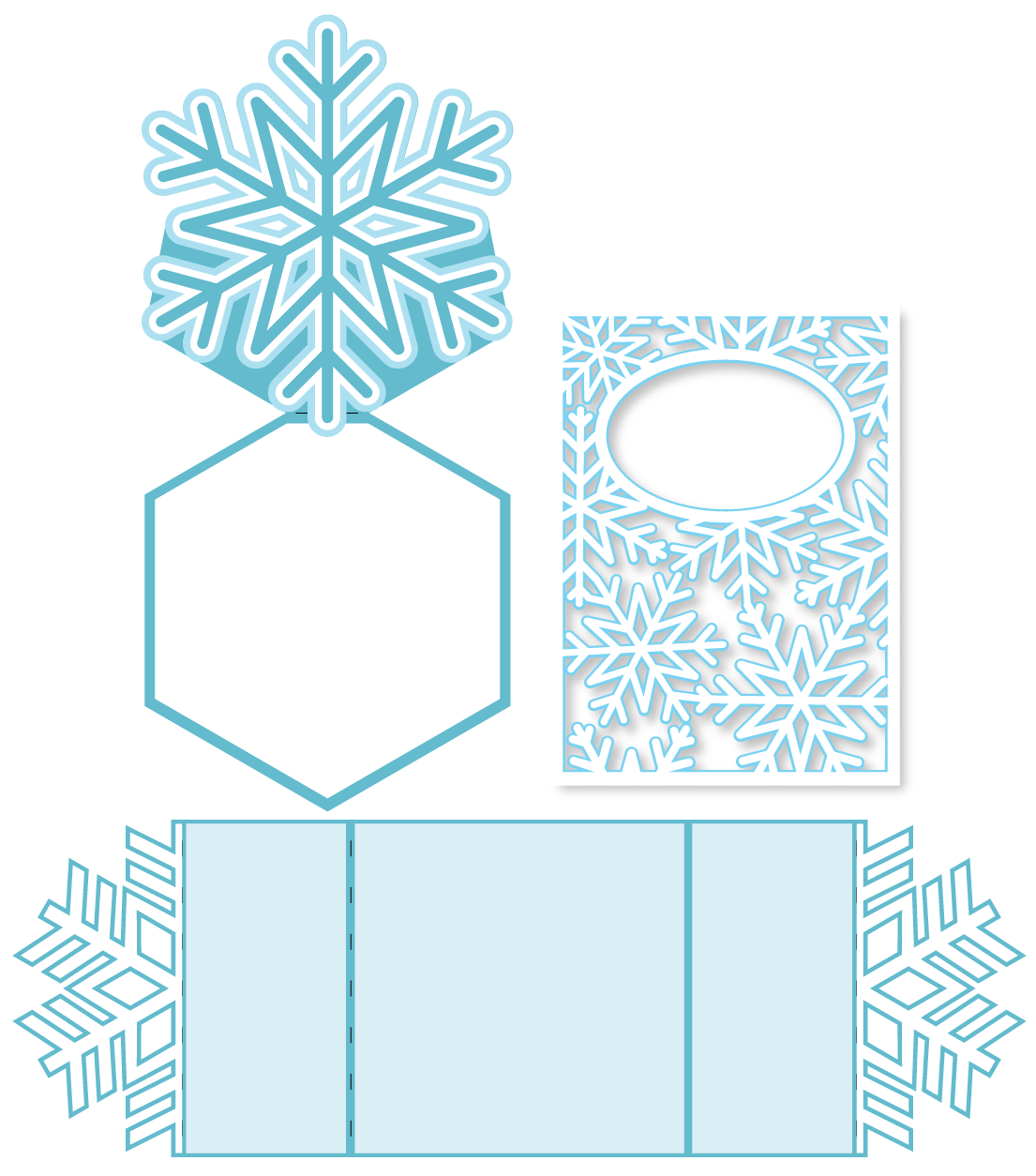 Download snowflake-cards | Snowflake cards, Cricut christmas cards