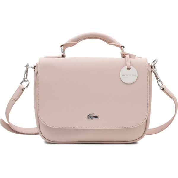 Lacoste Small Satchel Daily Classic bag (180 CAD) ❤ liked on ...