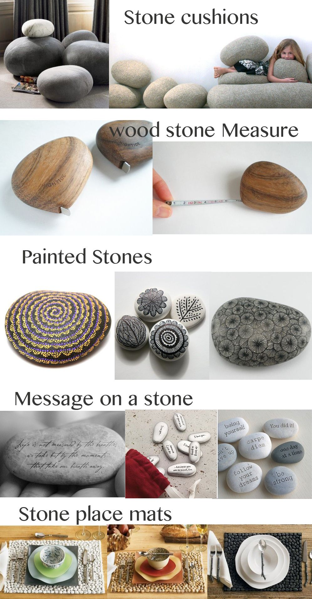 my favorite stone objects