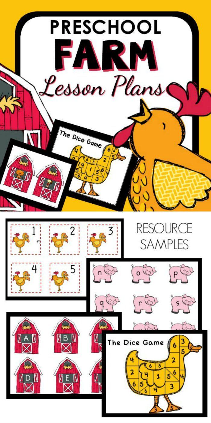Photo of Farm Theme Preschool Classroom Lesson Plans – Preschool Teacher 101