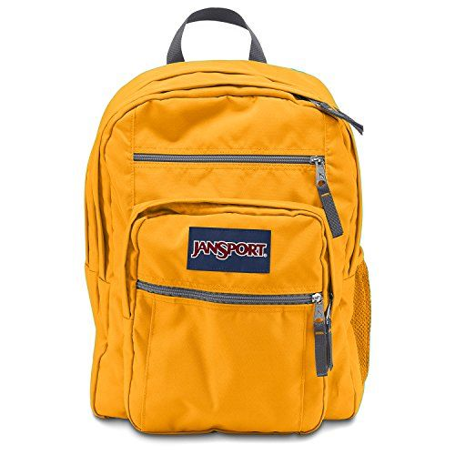 great fit attractive designs wholesale outlet JanSport Big Student Backpack - Beez Yellow #Jansport ...
