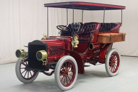 1904 White rear-entrance tonneau steam car  White Motor Co