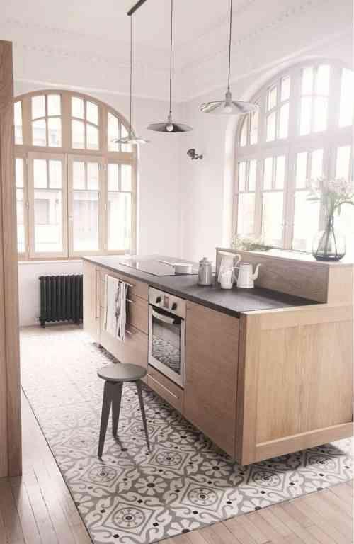 Jonction Carrelage Parquet Quelles Sont Les Options Modernes A Envisager Cuisine Bois Deco Maison Decoration Interieure