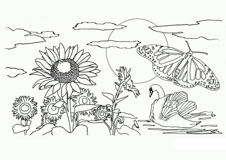 Free Printable Nature Coloring Pages For Kids Best Coloring Pages For Kids Animal Coloring Pages Coloring Pages Nature Flower Coloring Pages
