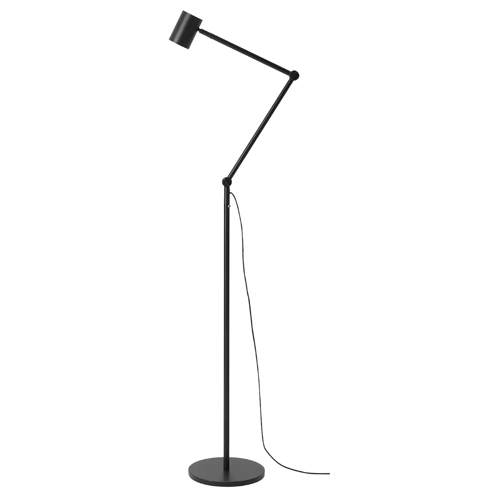 NYMÅNE Floor/reading lamp anthracite IKEA in 2020