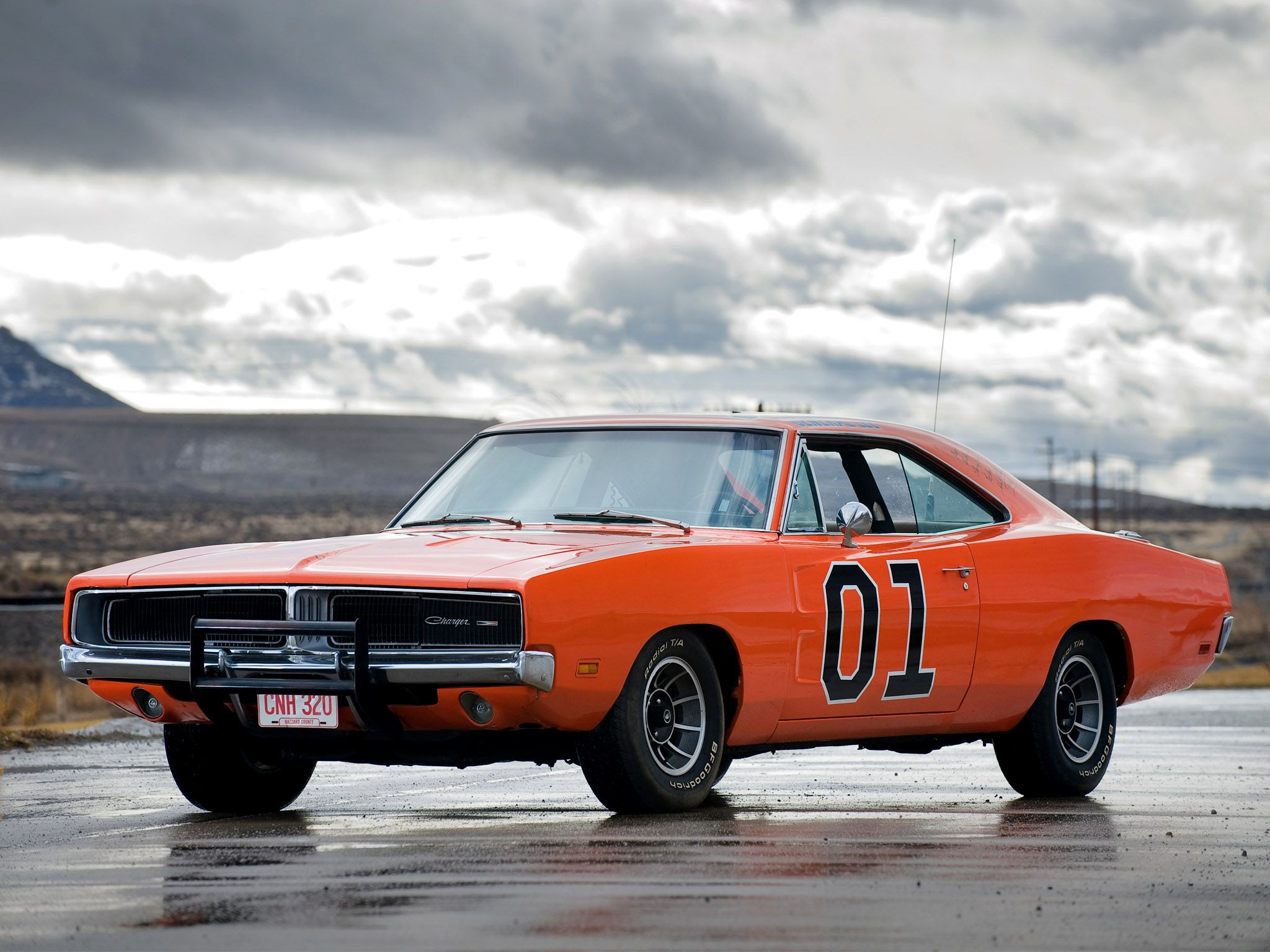 The famous Dodge Charger 1969