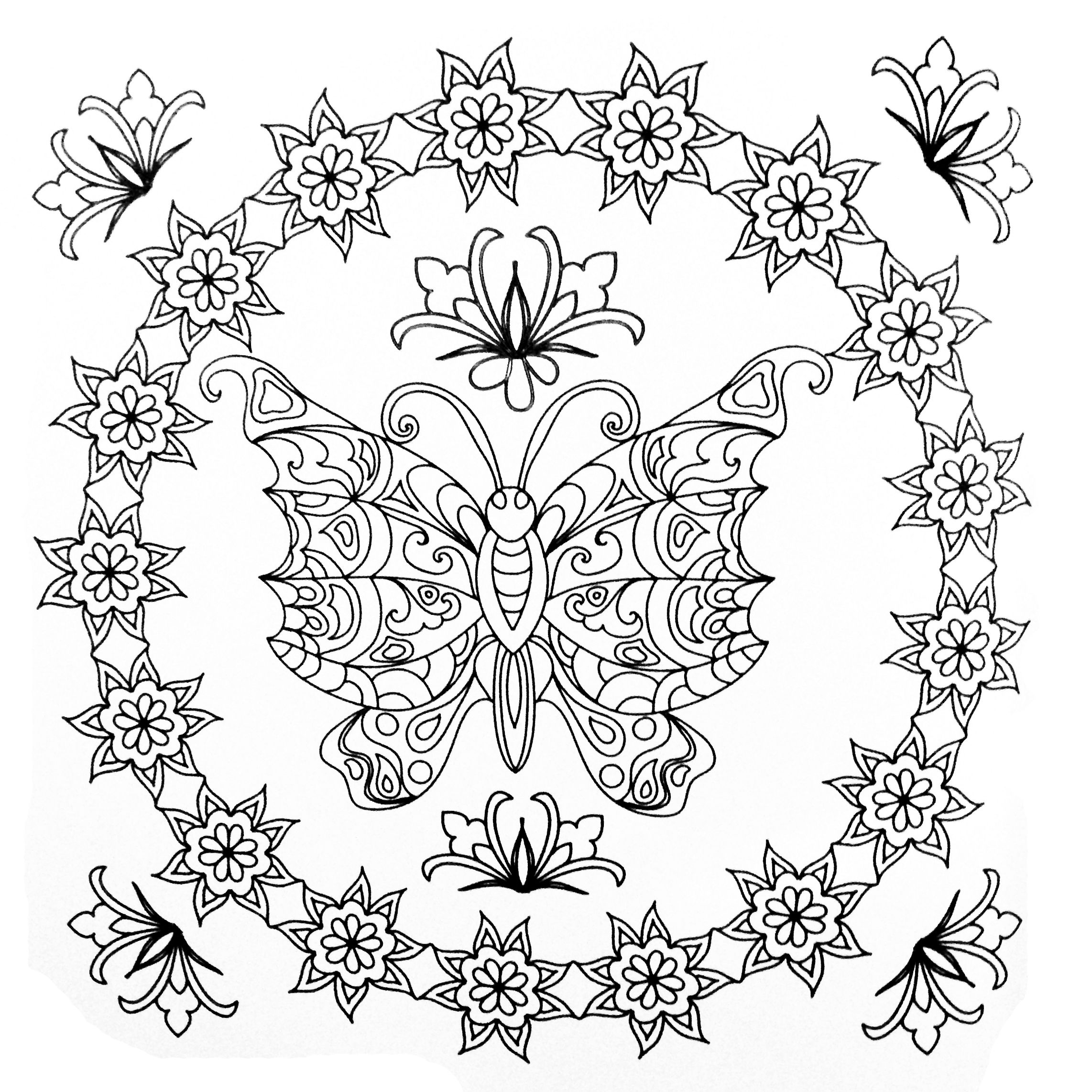 Pin On Cool Coloring Pages [ 2284 x 2284 Pixel ]