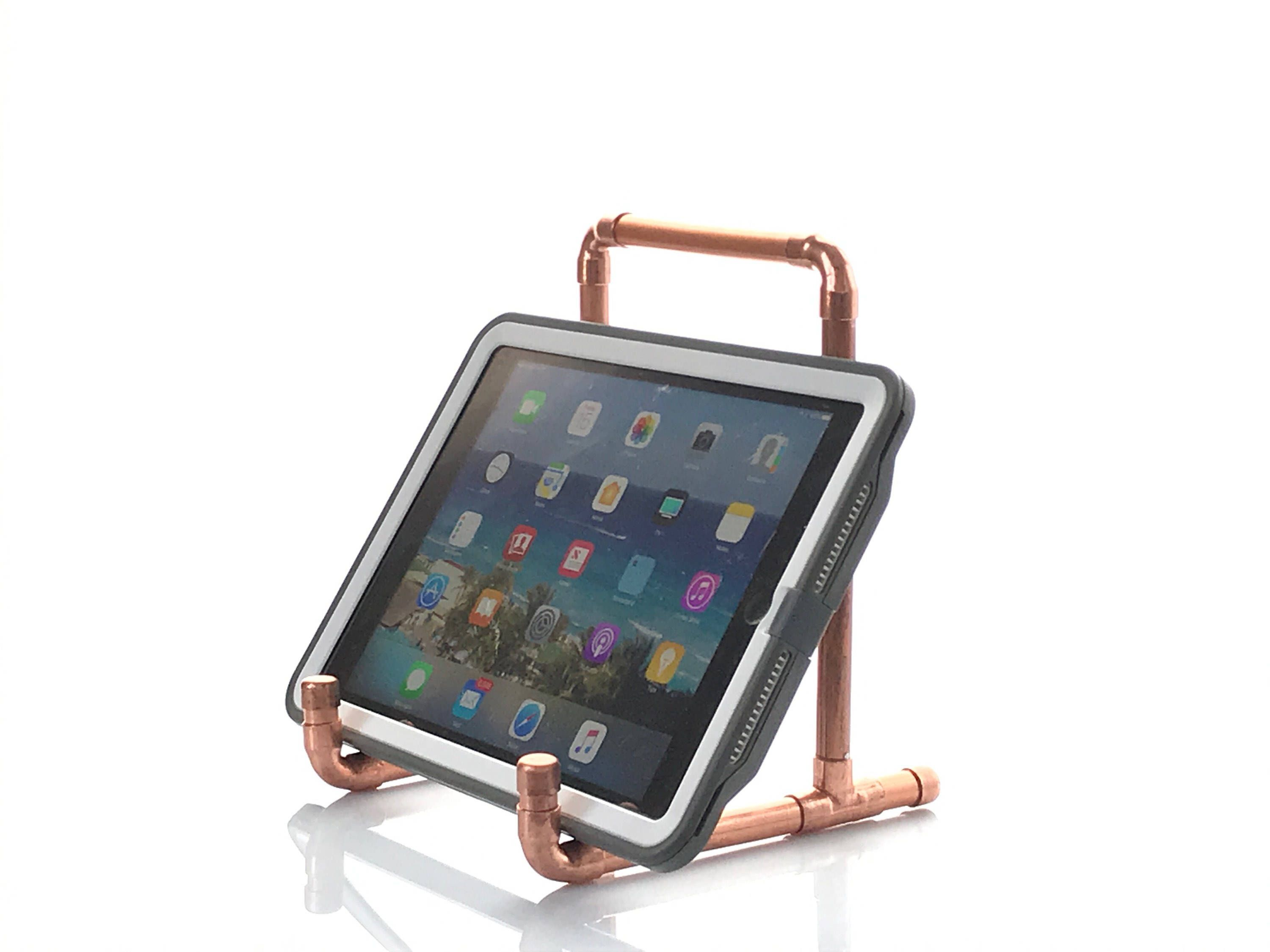 Copper tablet or ipad stand industrial