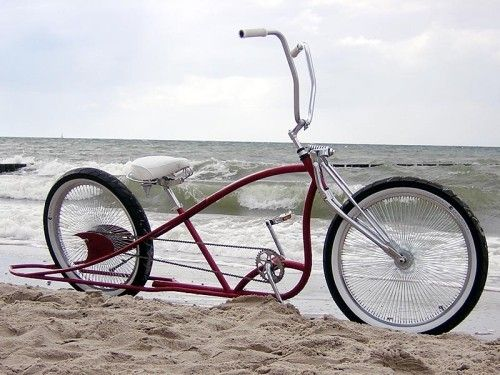 Custom Beach Cruiser Bikes Custom Cruiser Chopper Und Lowrider Von Sebastian Anger Bike Blog Cruiser Bicycle Beach Cruiser Bikes Custom Bicycle