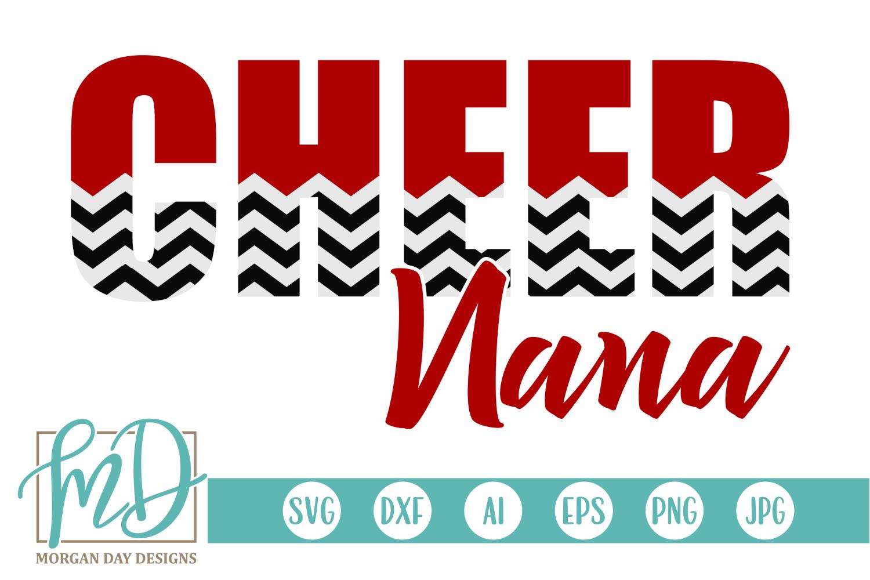 Cheer Nana SVG By Day Designs