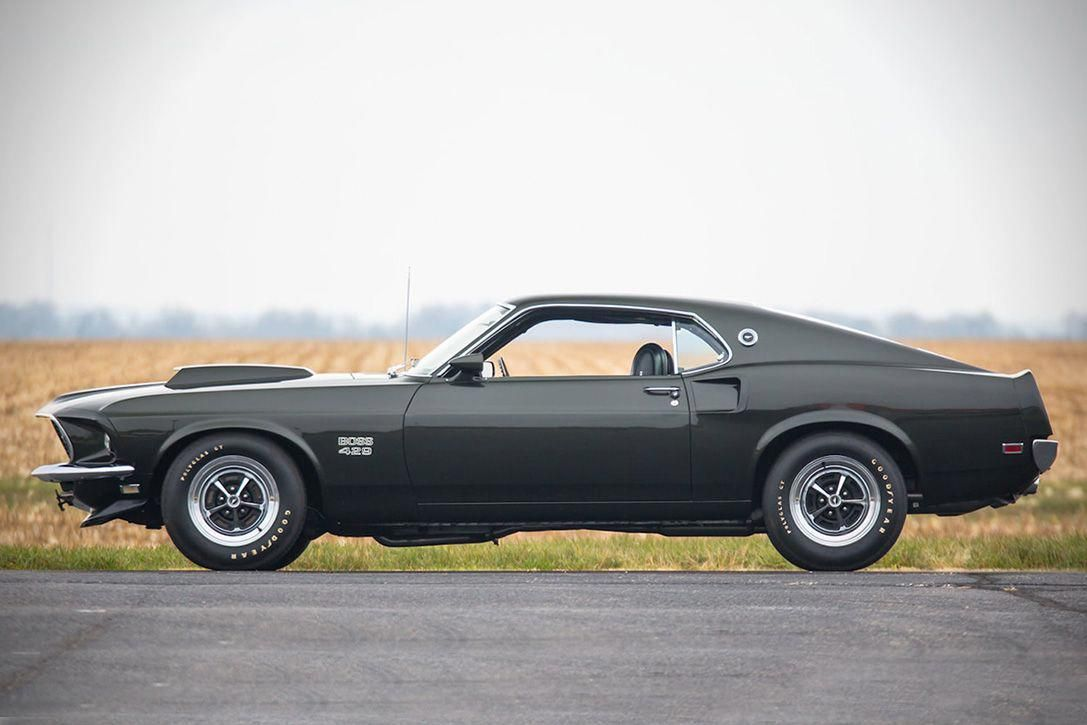 1969 Ford Mustang Boss 429 >> Auction Block 1969 Ford Mustang Boss 429 Fastback