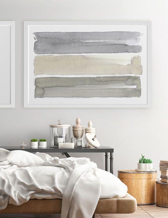 Abstract Painting Large Abstract Art Large Wall Art Grey Abstract