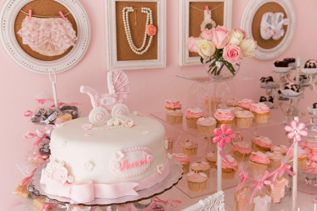 Delightful Baby Shower Vintage Part - 13: Pink Vintage Baby Shower