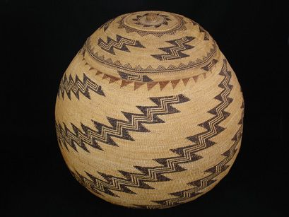 Hupa Karok Native American Indian Baskets, Basketry - Gene Quintana Fine Art - Indian Baskets