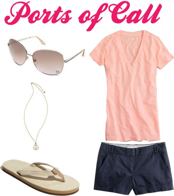 """""""Ports of Call"""" by kayceebrown on Polyvore"""