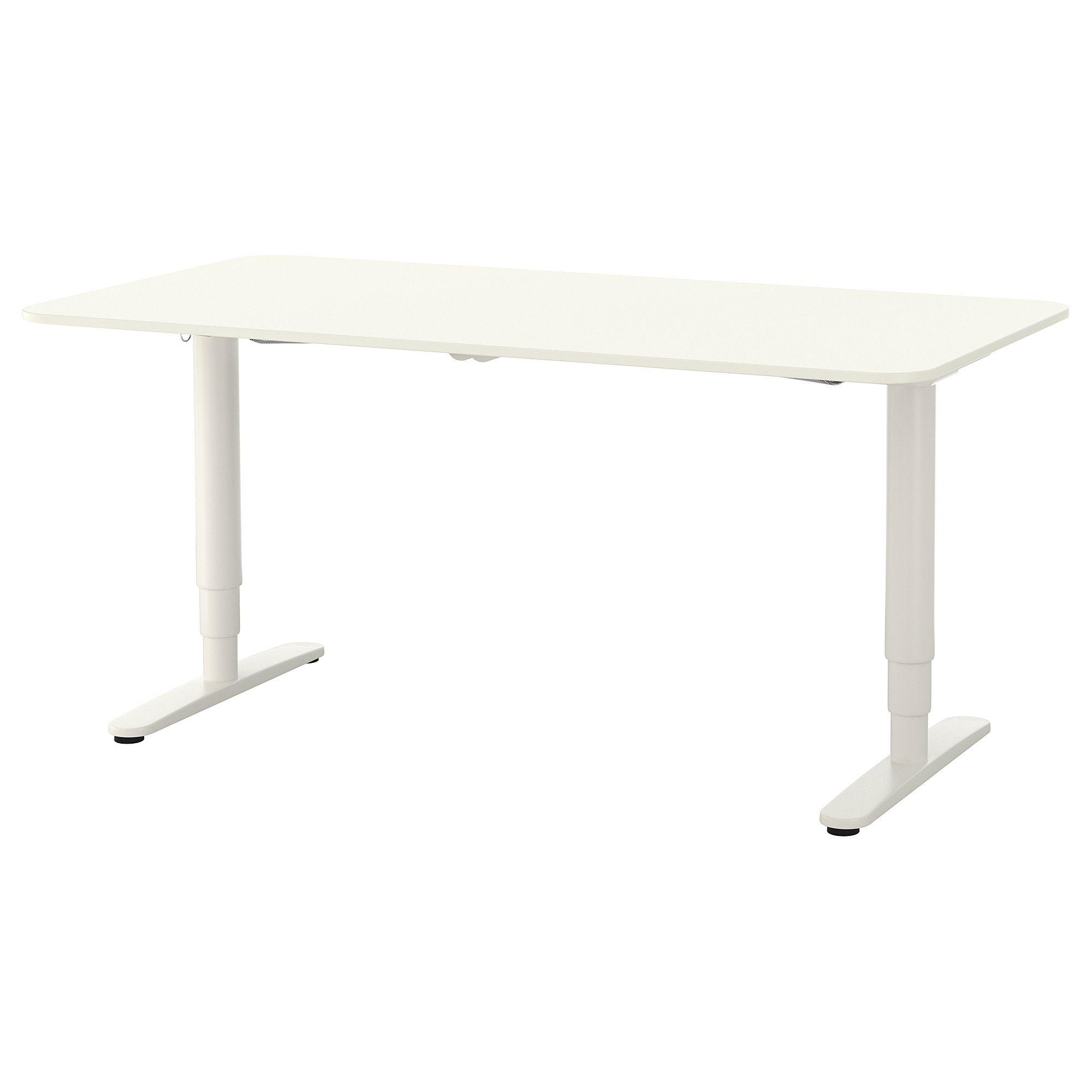 Bekant Desk Sit Stand White In 2019 Office Ikea Bekant Desk Ikea Desk Sit Stand Desk