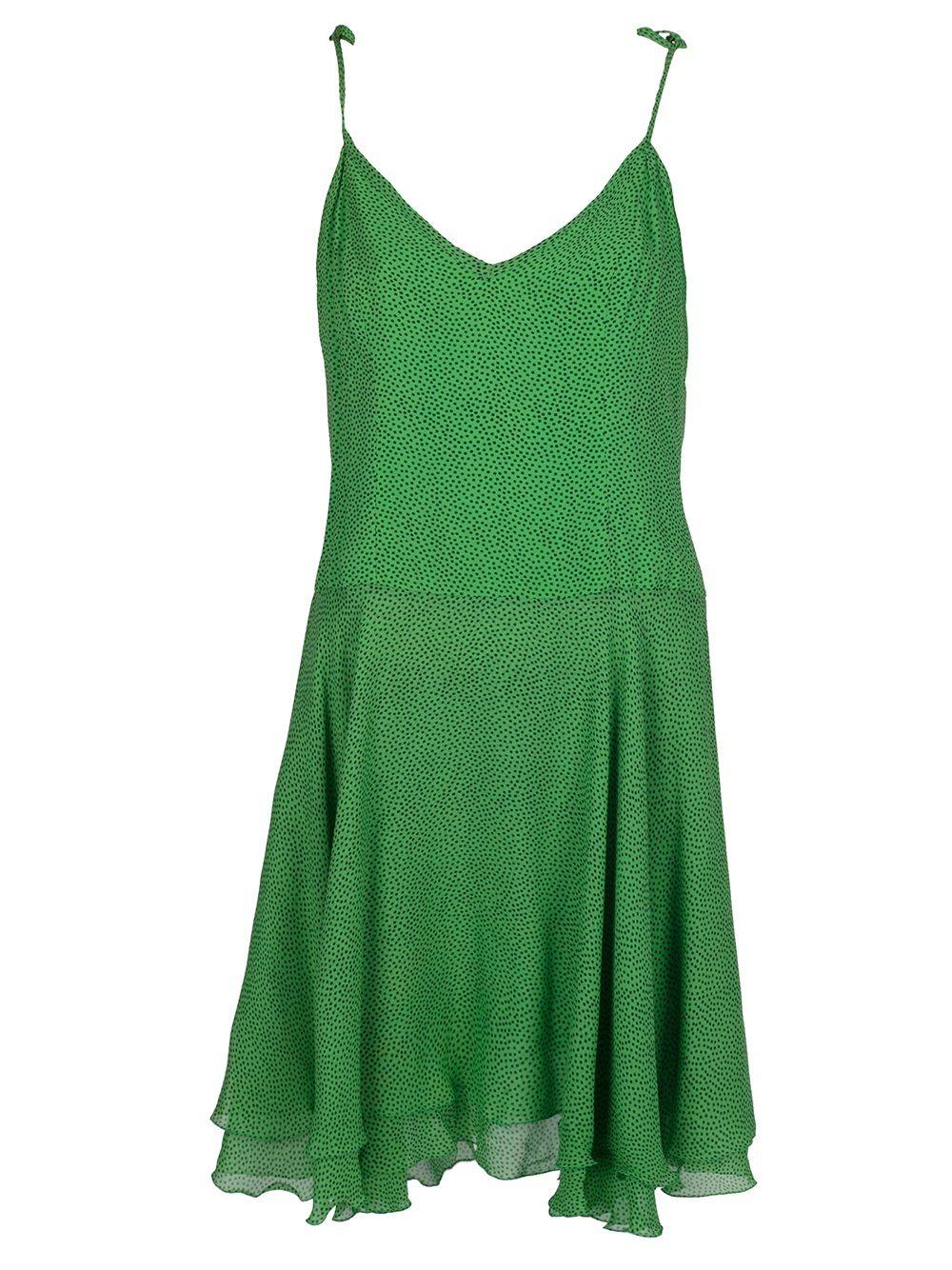 Gai Mattiolo Vintage Vestido Vintage Verde. - A.n.g.e.l.o Vintage - Farfetch.com.br