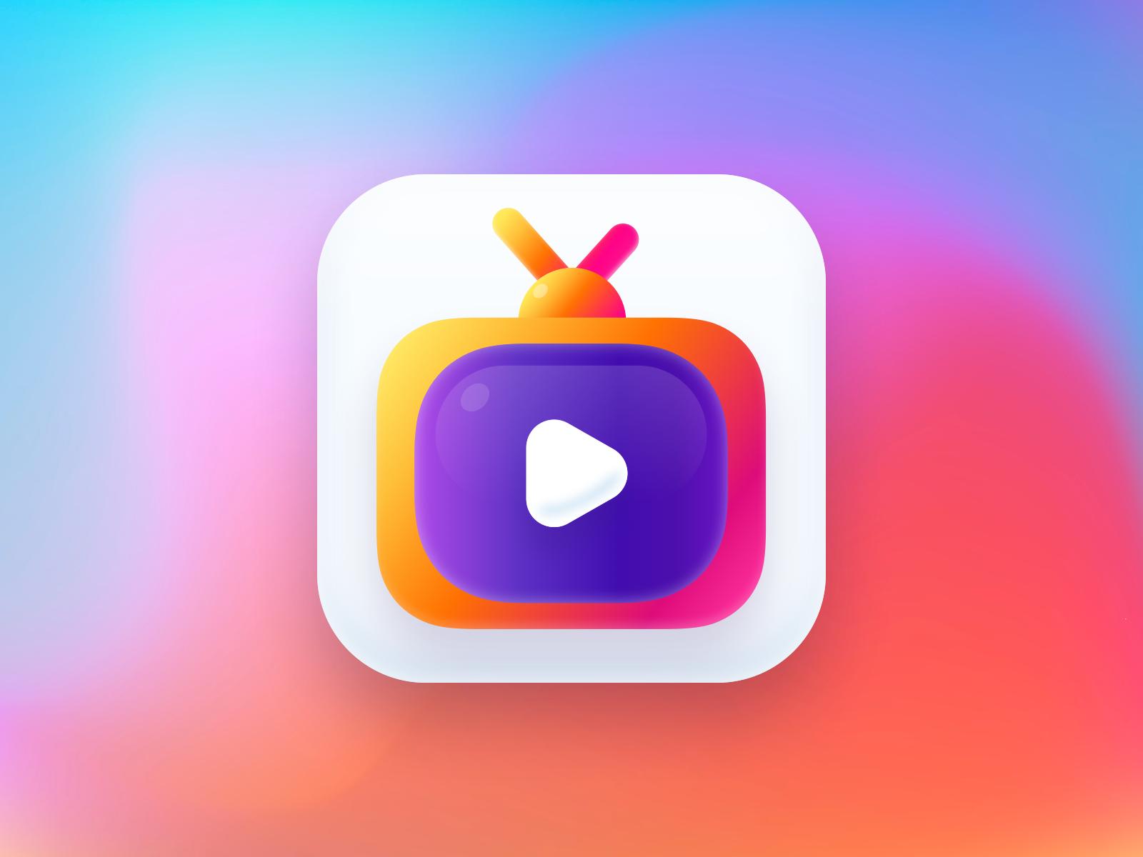 Tv Icon Tv Icon App Icon Design Icon