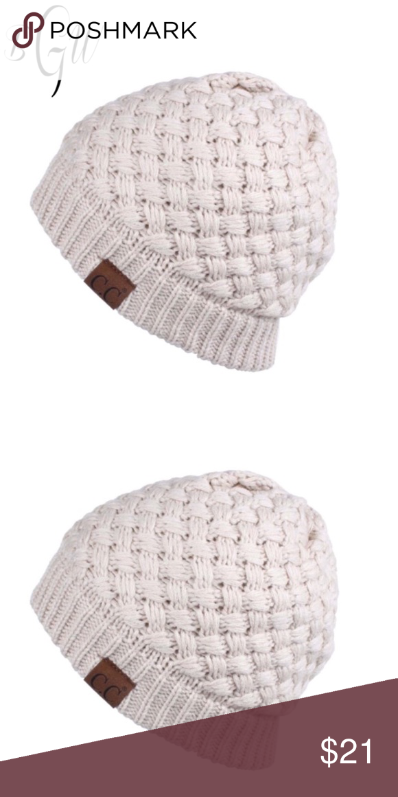 0fa371e1570 ❄ 🆕🎉HP🎉Basket Weave Ribbed Knit Beanie 🎉HOST PICK🎉BEST IN BOUTIQUES 10  17 New Style Basket Weave Ribbed Knit Beanie Basket Weave Ribbed knit C.C  ...