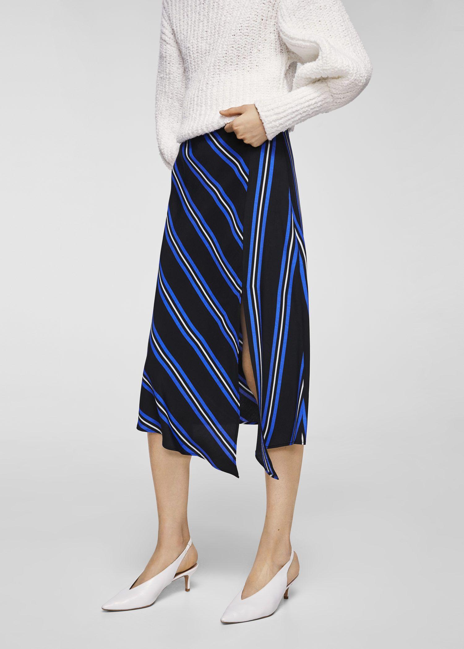 3d1faa248 Striped asymmetric skirt - Women in 2019 | Wishlist | Asymmetrical ...