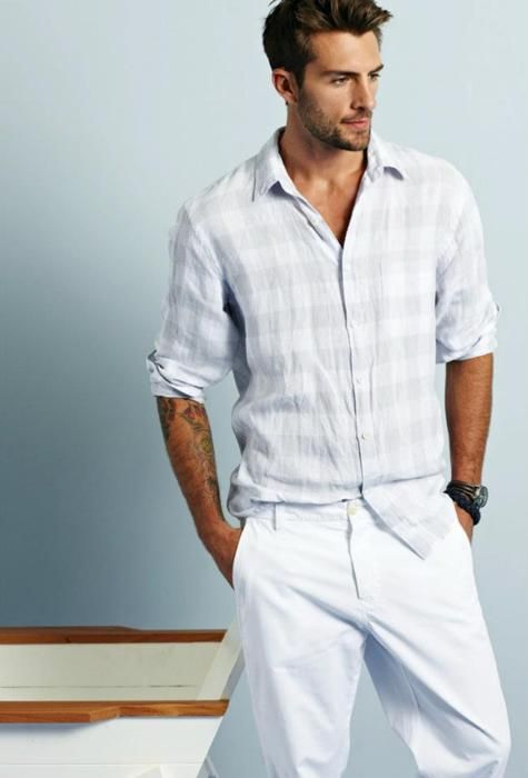 1a66522601 (M) LA PLAYA PANT Men's Drawstring Cotton White Pants Summer Beach |  fashion | White pants summer, White pants, Summer beach
