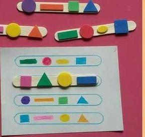 Educational Toys for Developing Mental Skills - Preschool Children Akctivitiys