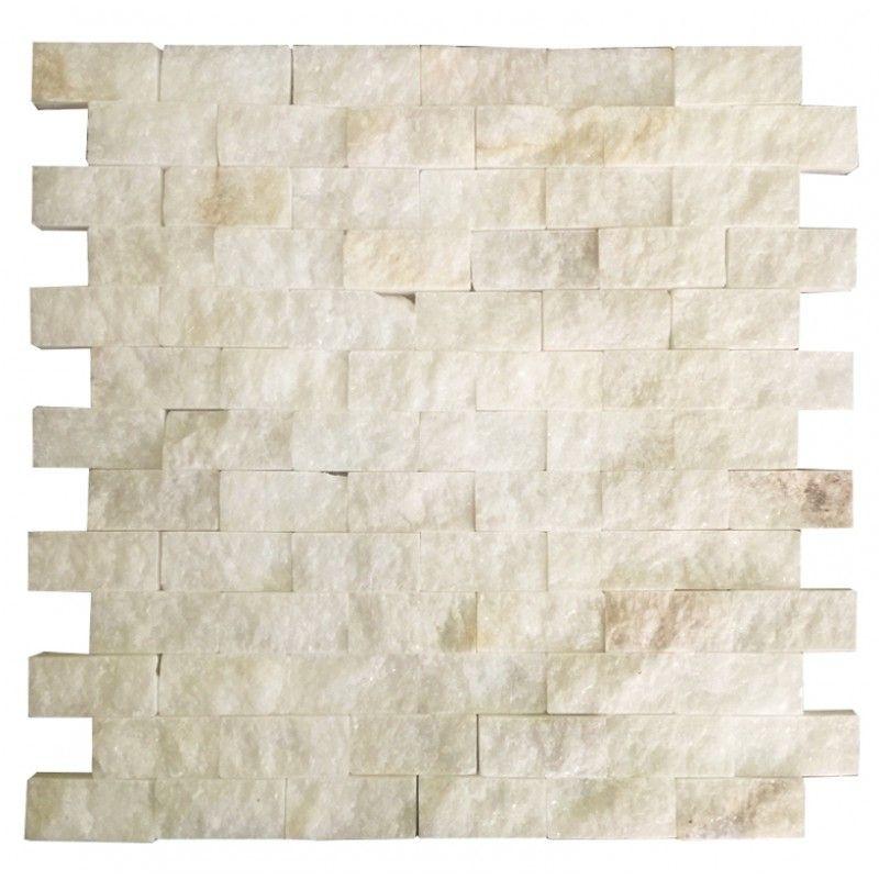 Uşak Beyaz 2.5X5 Fileli Patlatma Taş www.tasdekorcum.com #dekor ...
