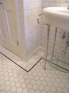 Glazed Ceramic Porcelain Floor Tiles Hannah Legg They Are Hexagons Not Octagons