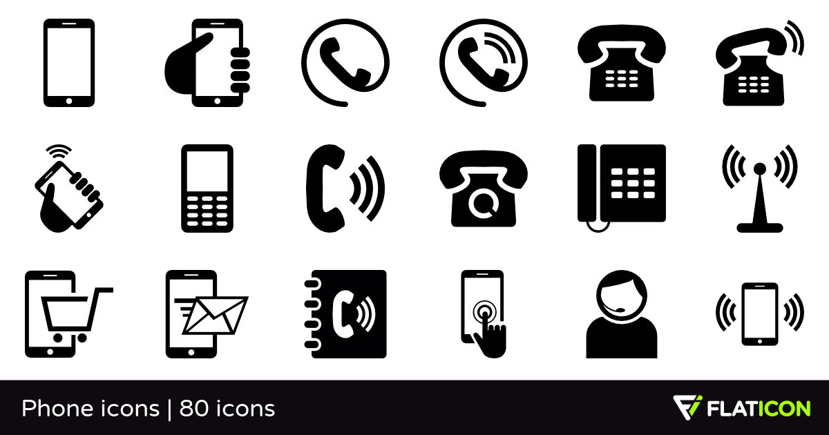 80 free vector icons of Phone icons designed by Freepik