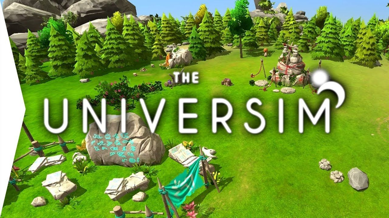 The Universim God Game Black & White plus Spore Gameplay
