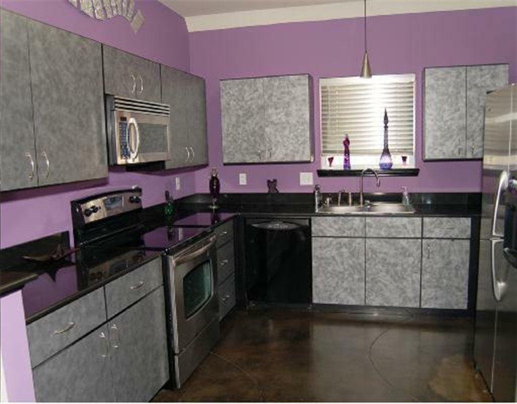 small purple kitchen decor pictures kitchen design ideas - Purple Kitchen Decorating