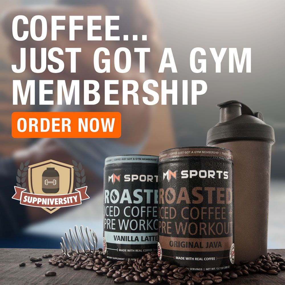Coffee pre workout clean controlled energy no post