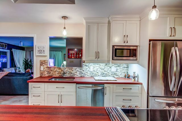 Kitchen Renovation With Texture #kitchen #cabinets #whitekitchen Captivating How To Design A Kitchen Renovation Inspiration Design