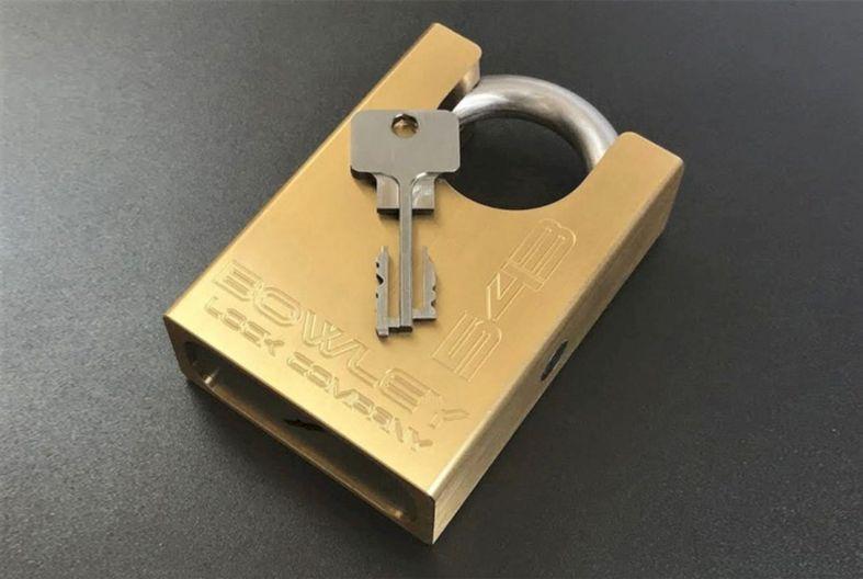Bowley lock company inc high security padlock model 543