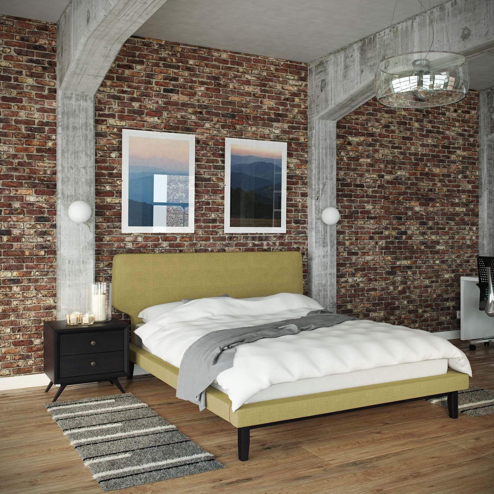 Bethany piece queen bedroom set foam headboard queen bedroom