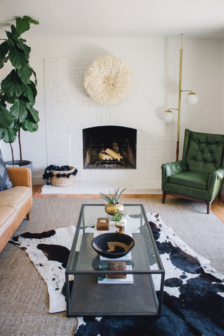 South African Nguni Cowhide Rug White With Black Spots Large Scandinavian Interior Farmhouse Decor Living Room Farm House Living Room Rugs In Living Room