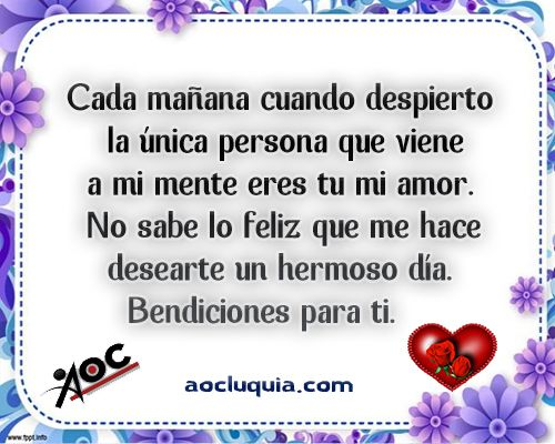 Poemas De Buenos Dias Mi Amor Te Amo E8212f2f2f535cfc7eb389029421f0c0 Jpg 500 400 Imagenes De