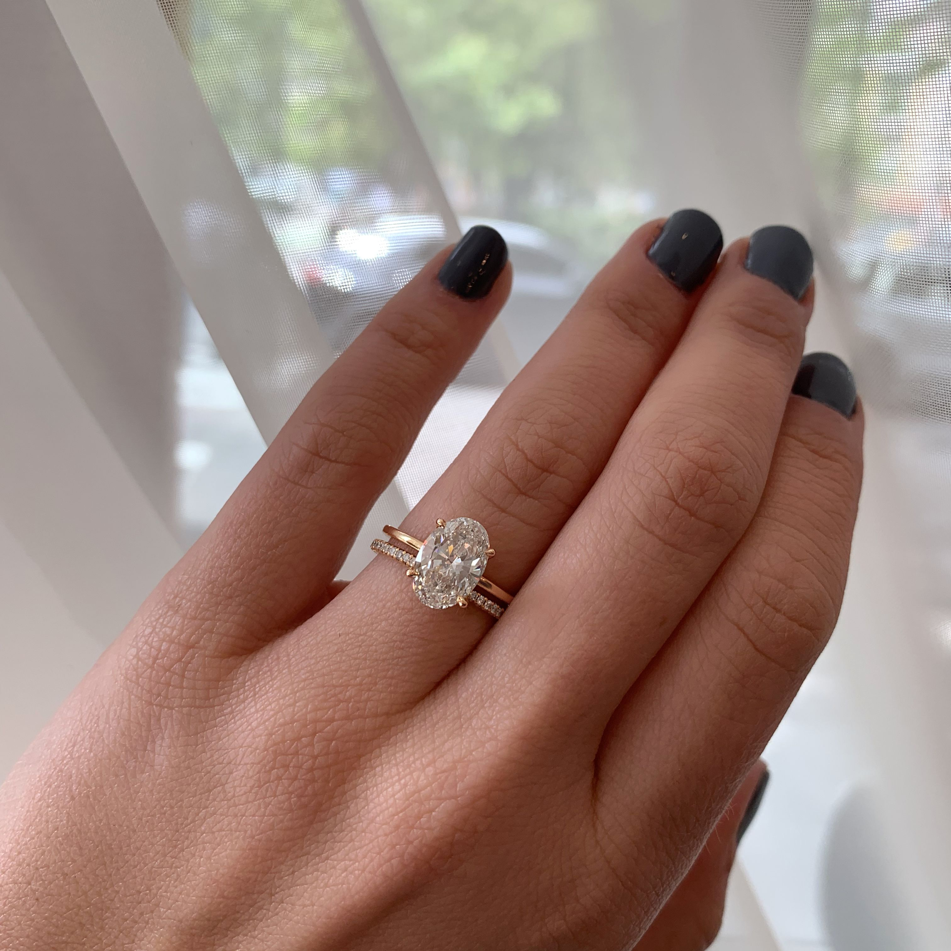 2.10 Carat Oval Cut DE Solitaire | Marisa Perry by Douglas Elliott - Traditional Engagement Rings
