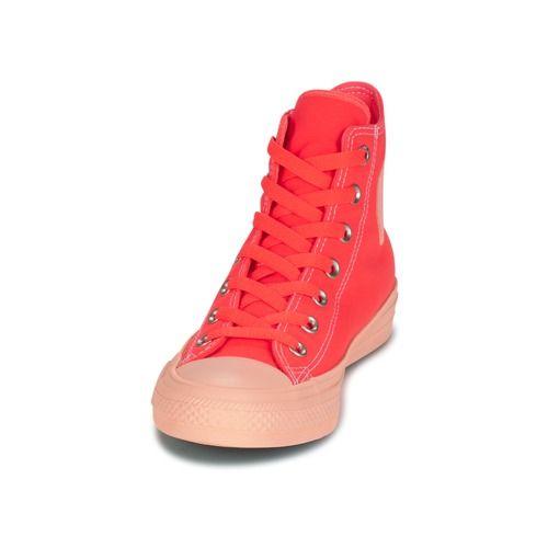 56c369b7cf4 Topánky Ženy Členkové tenisky Converse CHUCK TAYLOR ALL STAR II PASTEL  MIDSOLES HI Oranžová
