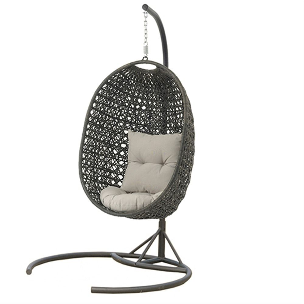 Bramblecrest rio rattan cocoon garden swing seat pod chair pod