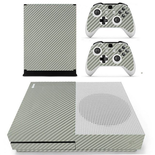 Solid Color Design Skin Fibre Sticker For XBOX ONE S Gaming Console+2 Controller Protective Vinyl Decal Cover