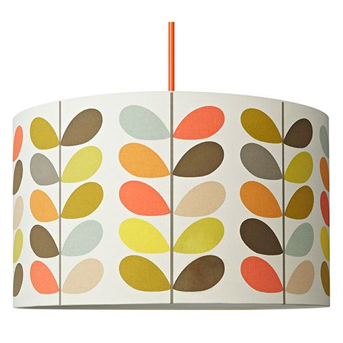 Multi Stem Drum Shade 45cm Orla Kiely Lamp Shades Floor Lamp Shades