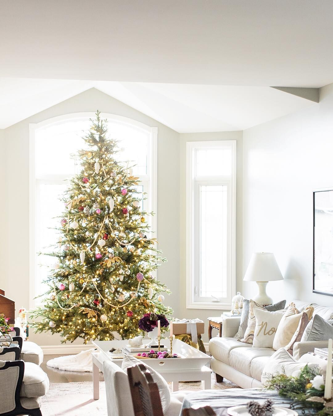 The Best Christmas Tree Decoration Ideas on Instagram | Pinterest ...