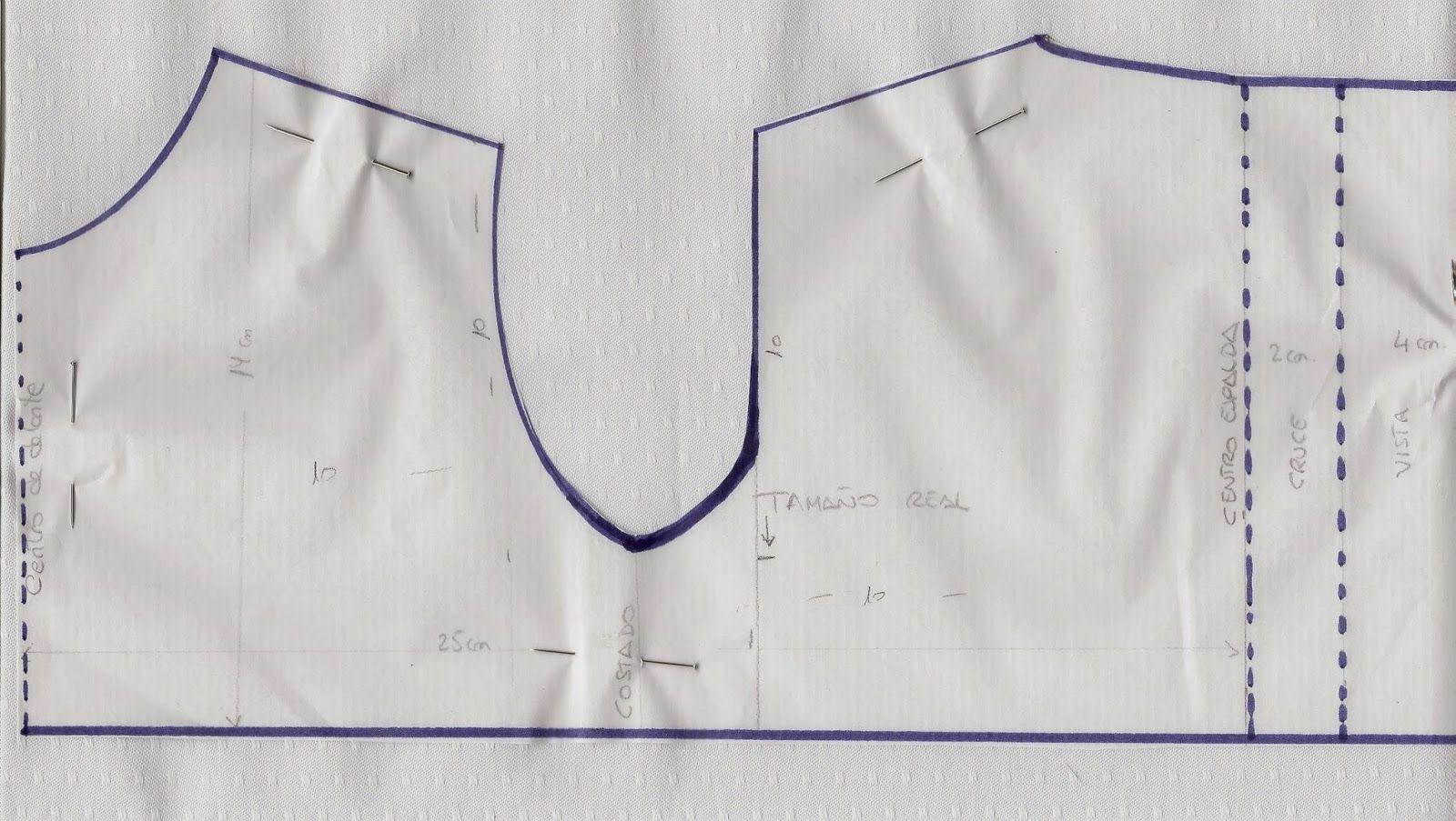 patrón y costura : medidas del recién nacido y cómo cortar el ...
