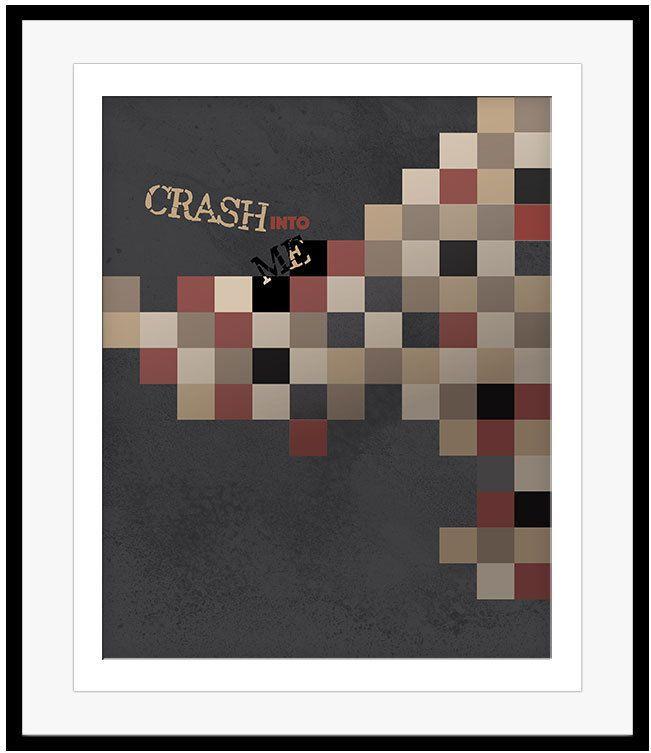 Lyric dave matthews lyrics : Dave Matthews CRASH INTO ME Song Lyrics Art Music Poster (PRINTS ...