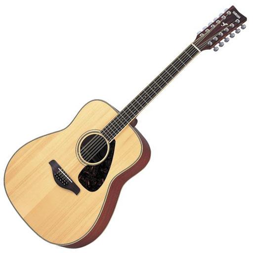 Yamaha FG720S-12 Twelve-String Acoustic Guitar, Natural