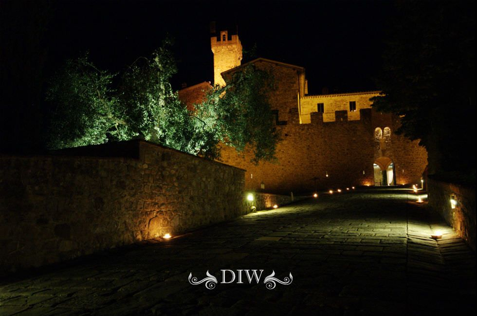 Wedding in Tuscany - Wedding in Chianti Castle